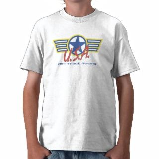 USA Dirt Track Racing Tee Shirt
