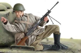 Dragon WWII 1 6 Soviet Red Army LMG Gunner 12 Boris