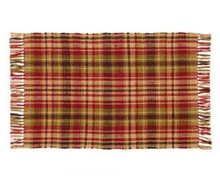 IHF Country Woven Accent Throw Rug for Sale Spice Woven Rug