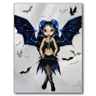Bat Wings Postcard