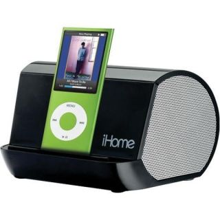 iHome iHM10 Portable MP3 Player Stereo Speaker System w/ EXB Expanded