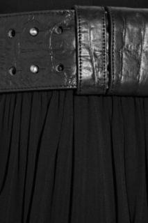 Thomas Wylde Big Rig stretch crepe wrap skirt   0% Off