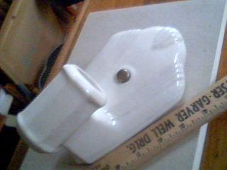 LAVOLIER Porcelain Art Deco Bathroom Light Sconce vintage antique