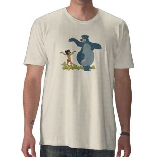 Jungle Book Mowgli and Baloo dancing Disney Shirt