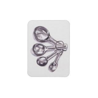 Measuring Spoons Flexible Magnet