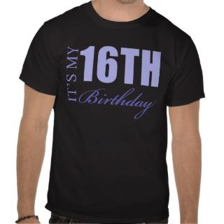 Boys 16th Birthday T Shirts, Boys 16th Birthday Gifts, Art, Posters
