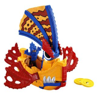 Fisher Price Imaginext Sea Dragon Boat