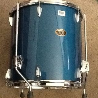 Tama Imperial Star Floor Tom Drum Ocean Blue Mist 16X16