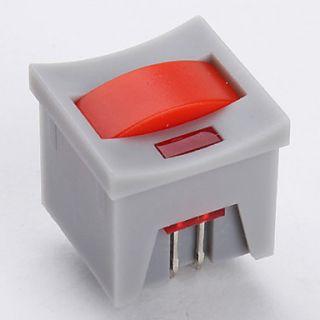EUR € 5.23   14 x 14 millimetri interruttore a chiave con luce led