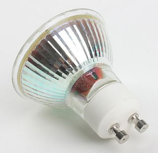 gu10 3w 300lm 3000 3500K luz blanca cálida bombilla del punto del LED
