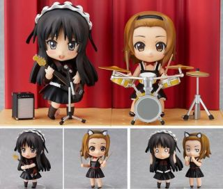 on Mio and Ritsu Live Stage Set Figure Good Smile Company