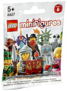 Lego 8827 Minifigures Series 6 Factory SEALED in Lego Bag Random 1