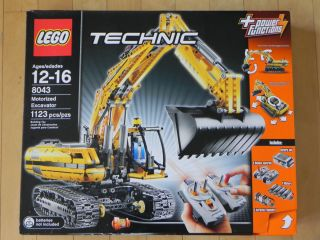 in 1 Lego Technic 8043 Motorized Excavator Factory SEALED Box