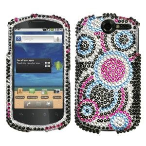 Crystal Diamond BLING Hard Phone Case Cover for Huawei AT&T Impulse 4G