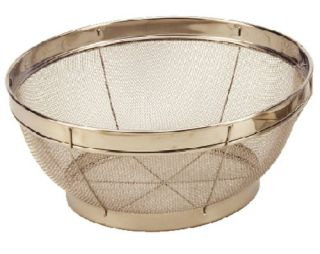 Features of Cook Pro 7 1/2 Inch Stainless Steel Mesh Colander
