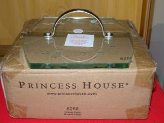 Princess House 6256 Glass Grill Press Heritage New in Box