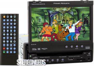 in Dash Car Bluetooth 7 Touchscreen Monitor DVD CD iPod Player