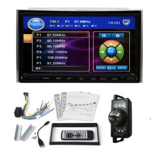 In Dash 2 Din 7 Touch Screen Car Stereo DVD Player Radio Hitachi CD
