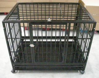 48 Heavy Duty Dog Pet Cat Bird Crate Cage Kennel HB