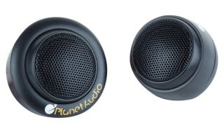 PLANET AUDIO P30TW 1 INCH SOFT SILK DOME SWIVEL TWEETER W/ NEODYMIUM