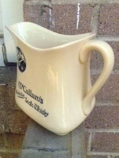 Royal Doulton McCallums Perfection Scots Whisky Whiskey Water Pitcher