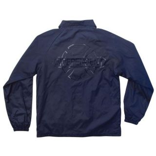 Independent No BS Coach Windbreaker Jacket Navy Medium