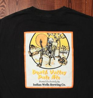 Indian Wells Brewing Co Death Valley Pale Ale Front Back Logos Black