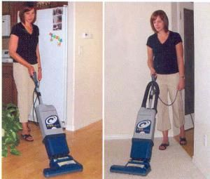 15 Commercial Grade 2 Motor Upright HEPA Vacuum Cleaner, 1160 Wa