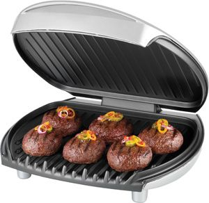 George Foreman 103 Indoor Electric Grill, GR0030P Fixed Plate