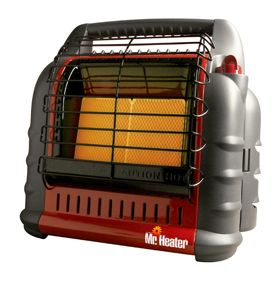 Mr Heater Big Buddy Indoor Outdoor Propane Heater MH18B 089301748002