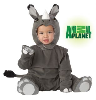 Animal Planet Rhino Rhinoceros Safari Infant Costume