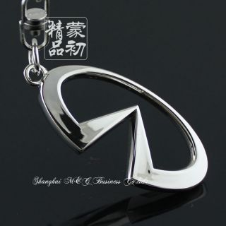 Infiniti Car Logo 3D Hollow Key Chain RINGFX35 SUV QX56 G37 G25 EX25