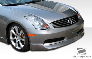 2003 2007 Infiniti G Coupe G35 Urethane Wings Front Lip Spoiler Body