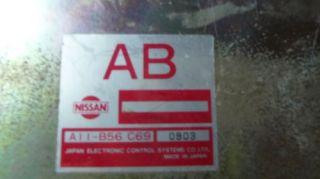 1993 Nissan Infiniti G20 Engine Computer ECM Warranty