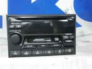 00 2000 Infiniti Q45 Radio Cassette CD Player LKQ