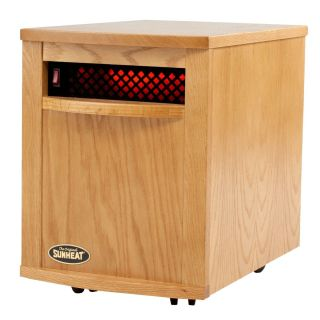 SunHeat ORIGINAL Quartz Infrared Heater US MADE CABINET 5 COLORS FREE