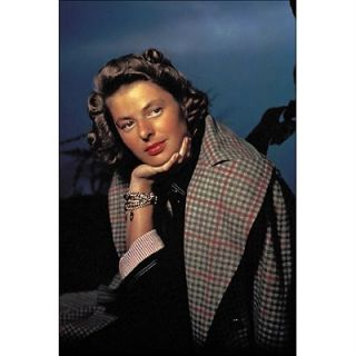 Ingrid Bergman Postcard from Golden Age of Hollywood