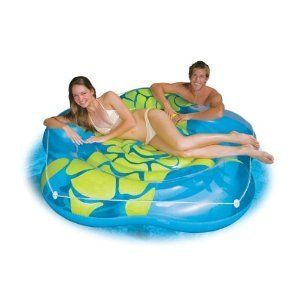 Intex Island Inflatable Pool Fun Float Lounge Lounger