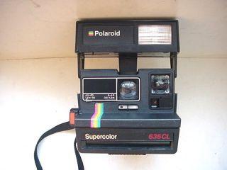 Polaroid 600 Supercolor 635CL Instant Camera