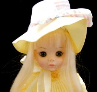 Beautiful Madame Alexander Jean Ingres Girl Doll in Yellow Dress and