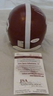 Mark Ingram Autographed Signed Alabama Mini Helmet w Heisman 09 Insc