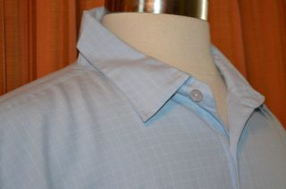 Oakley HP Invent Ingram Micro Short Sleeve Light Blue Casual Shirt