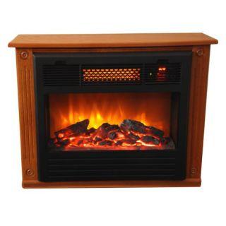 Lifesmart Infrared Quartz Fireplace LS IF1500 Dofp