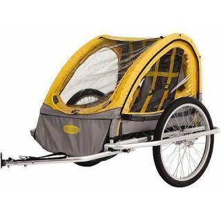 Instep Rocket Aluminum Bicycle Bike Child Pet Trailer MK553 JN2344