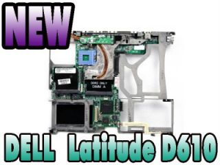 New Original Dell Latitude D610 Laptop Motherboard D4572 NF554 T8120