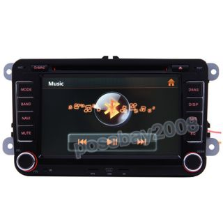 Golf Mk5/V Car GPS Navigation Bluetooth IPOD Radio USB MP3 TV DVD Unit