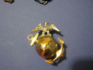 Marine Corps USMC EGA Emblem Badge Device Insignia Pin