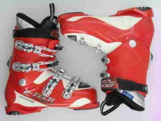 Used Atomic B Tech Red Intermediate Ski Boots MenS