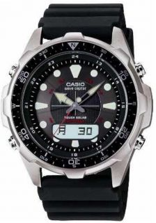 Atomic Clock Tough Solar Wrist Watch Mens Casio Wave Ceptor WVA 320J