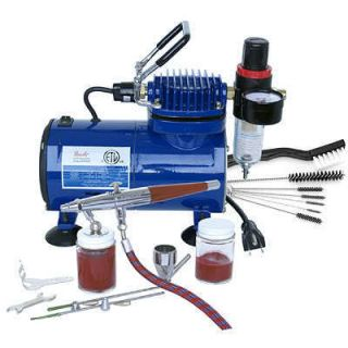 Paasche VL Airbrush Compressor Kit with Instructional DVD